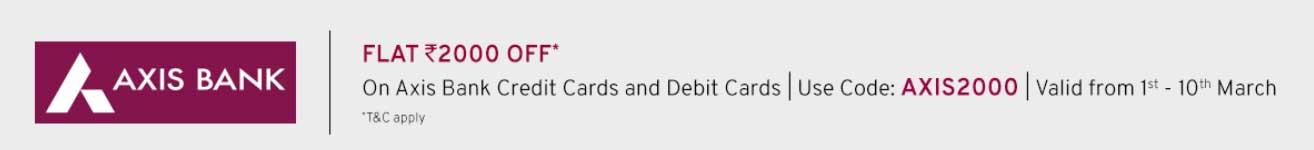 TataCliq Axis Bank Offer