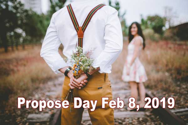 Propose Day Feb 8 2019