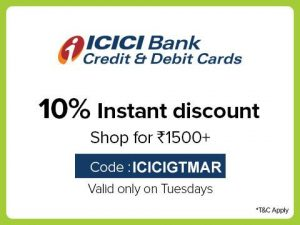 Bigbasket ICICI Tuesday Offer