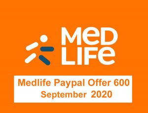 Medlife Paypal Offer 600