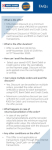 Myntra HDFC Offer 2020