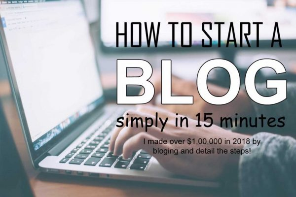 Wordpress Blog tutorial, you will learn how to start a WordPress blog on Bluehost step by step. It's simple and takes just around 15 minutes! I recommend Bluehost for blogging!