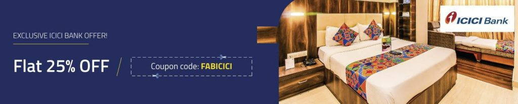 Fabhotels ICICI Bank Offer