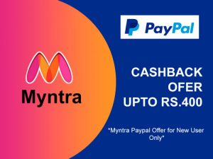 myntra paypal offer 400