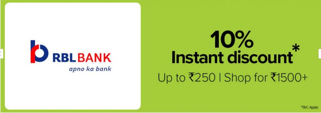BigBasket RBL Offer