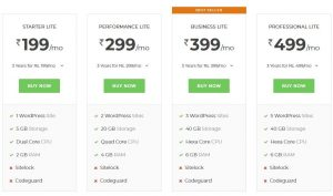 Bigrock wordpress hosting