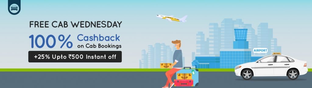 Goibibo Cab Wednesday Offer