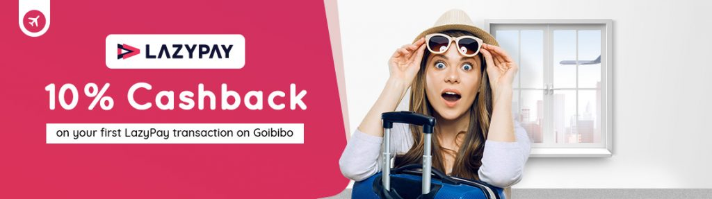 Goibibo Lazypay Offer