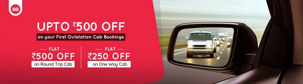 Goibibo Outstation Cabs Promo Code