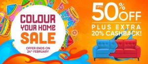 Pepperfry online sale coupon