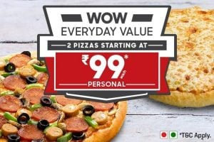 Pizza Hut Wow Everyday Value99