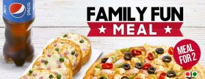 Pizzahut family fun meal