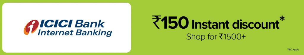 BigBasket ICICI Offer Code