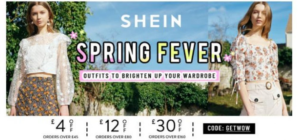 SHEIN Discount Code UK