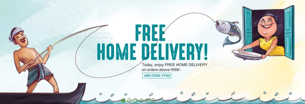 freshtohome free delivery coupon code
