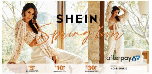 shein coupon code march 2020