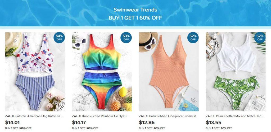 Zaful Swimming Suits
