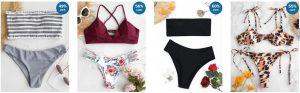 zaful swimsuits on models