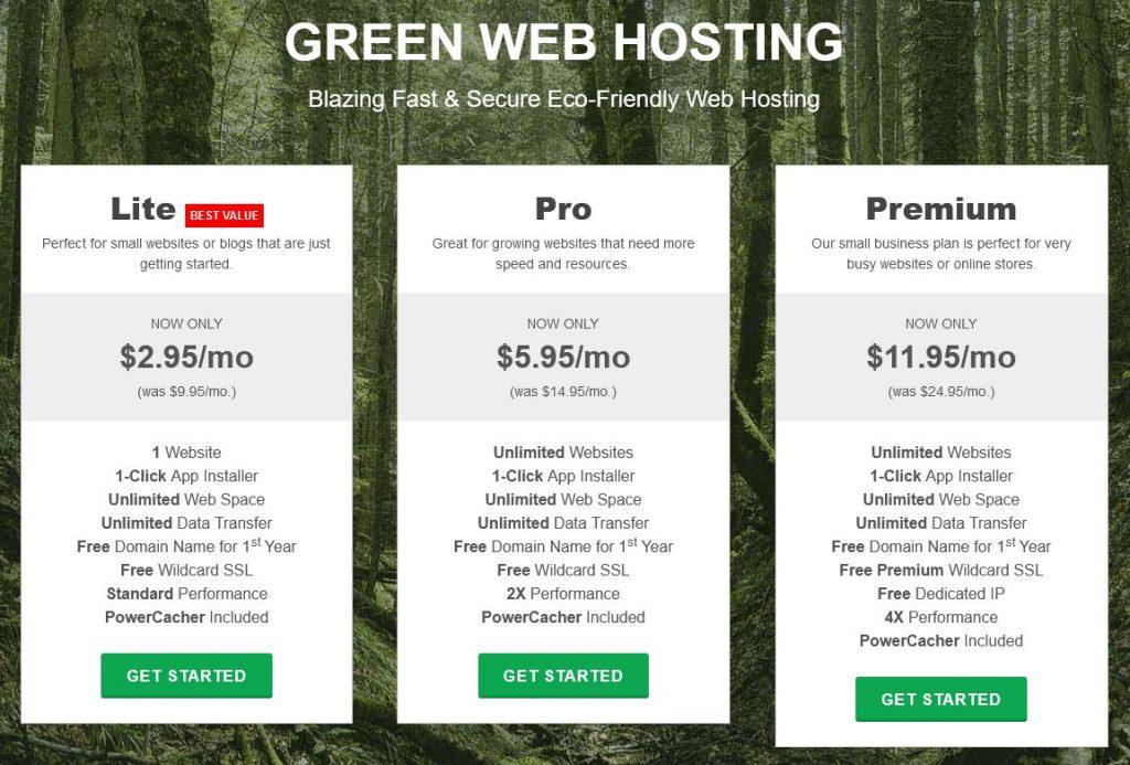 GreenGeeks Web Hosting Offers
