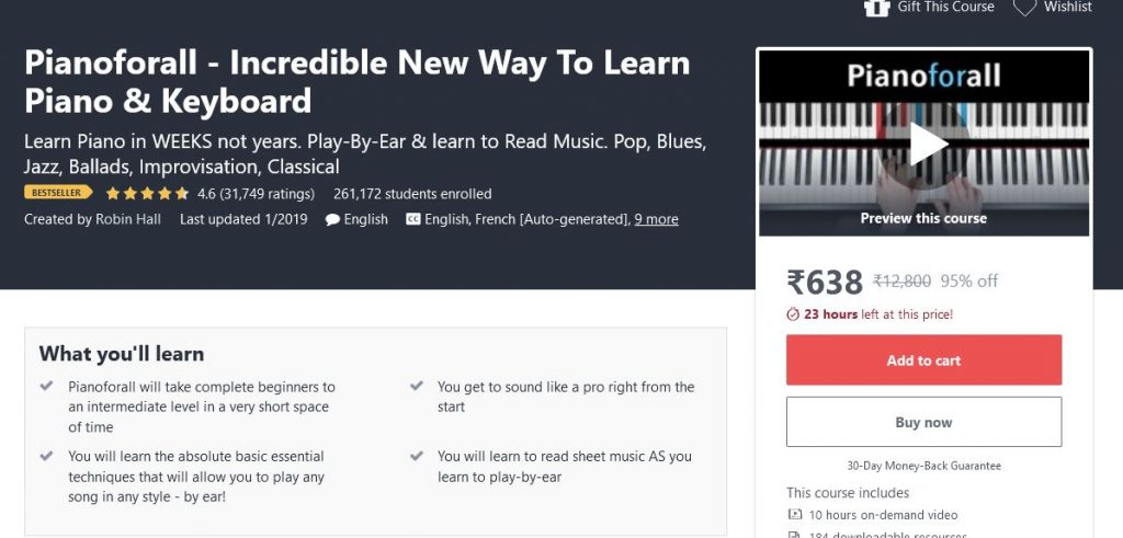 Learn Playing Piano
