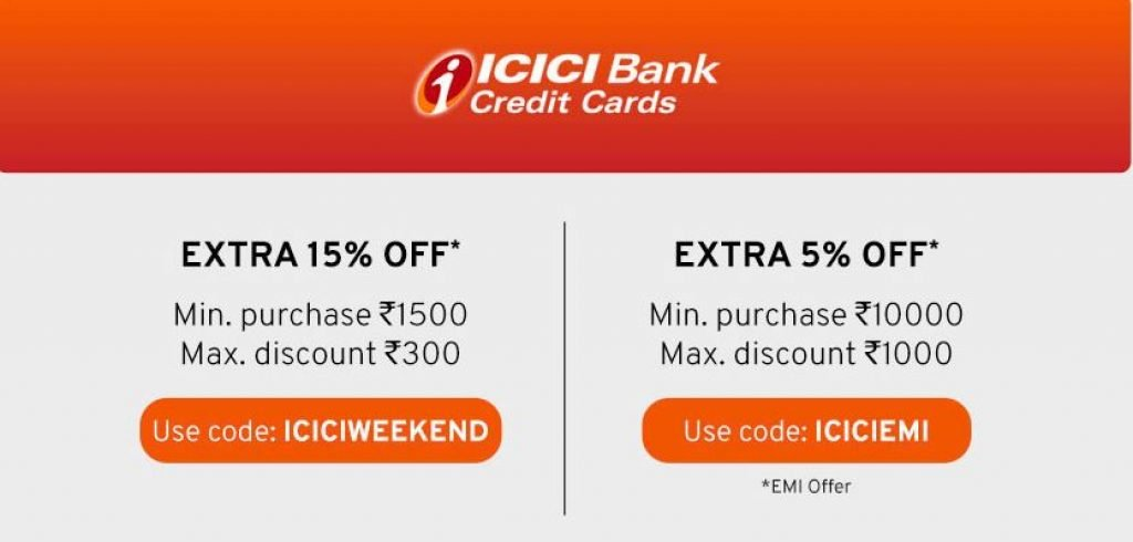 Tata Cliq ICICI Offer