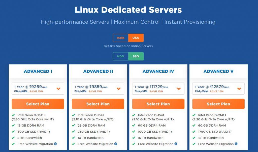 cheap Linux Dedicated Server
