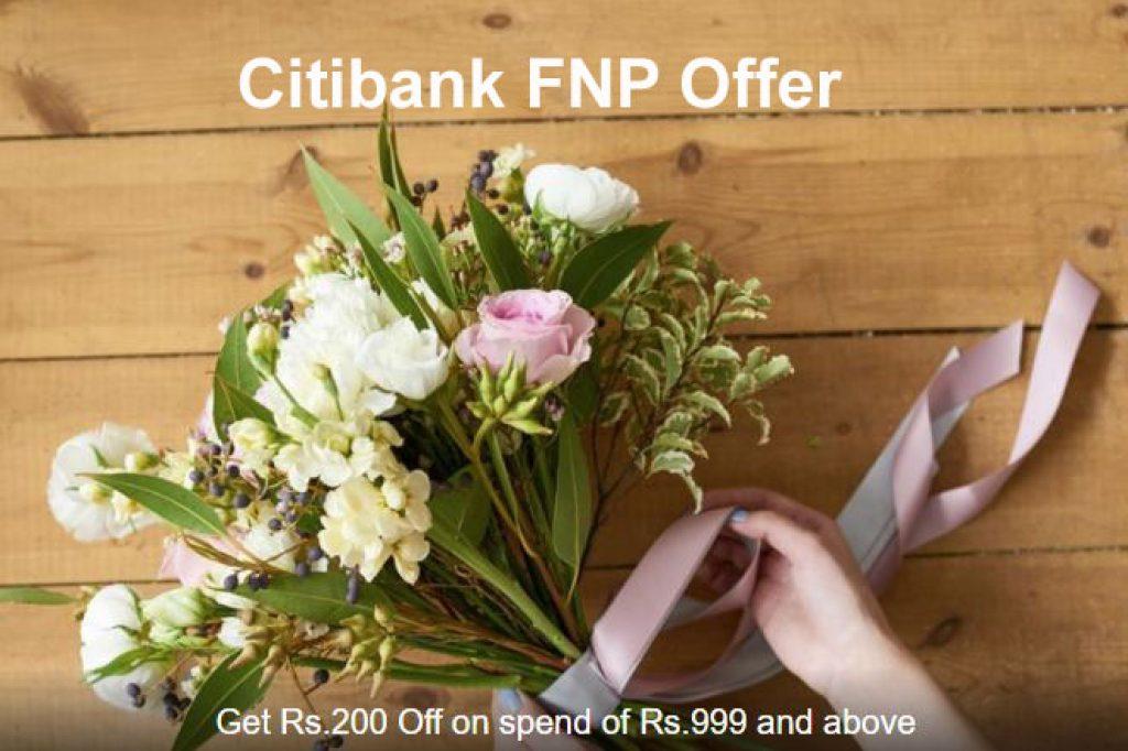 Citibank FNP Offer