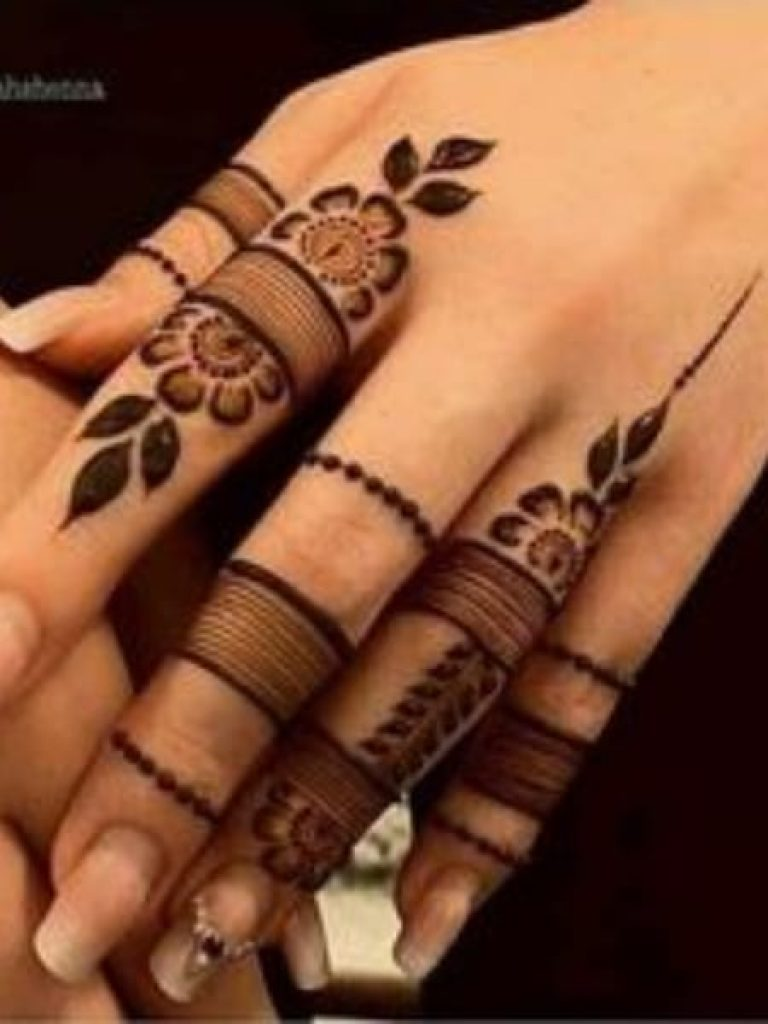 Urban Arabic Mehndi Design