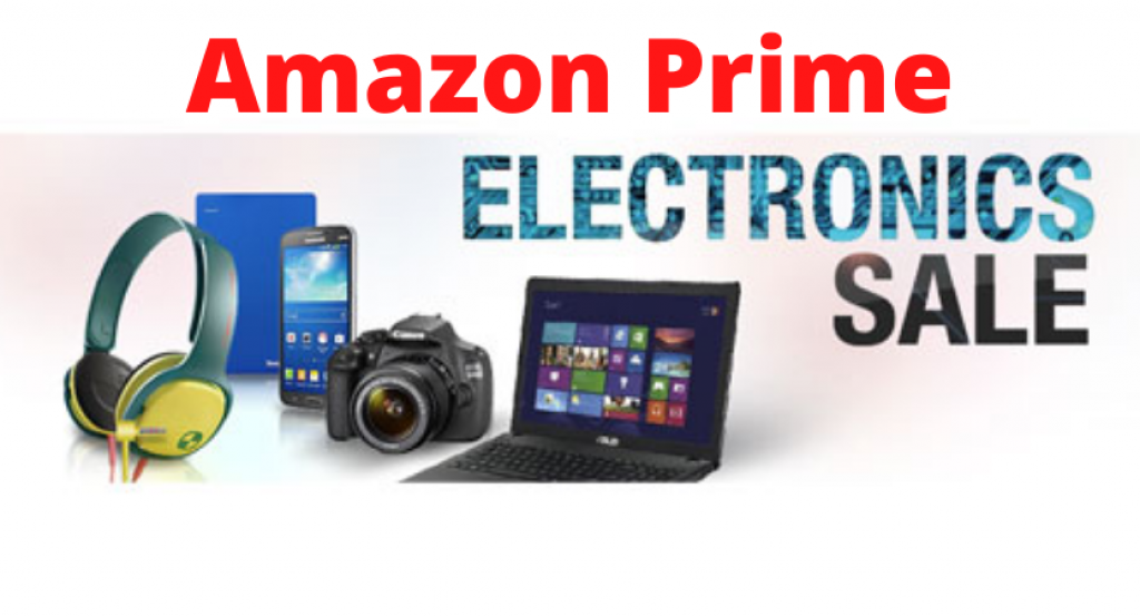 amazon prime electronics sale