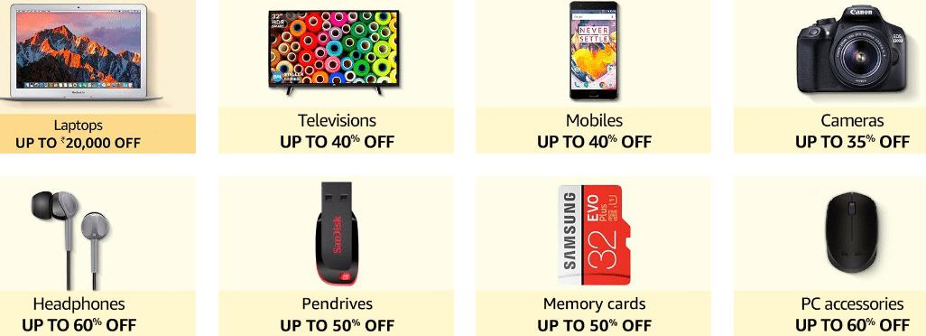 Amazon Diwali Sale Offer 2020