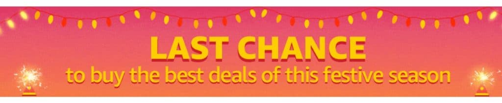 Amazon Diwali offer Last Chance