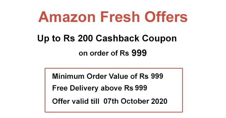 Amazon Fresh Offers