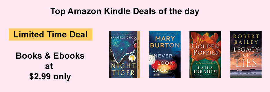 Amazon Kindle Deals of the day