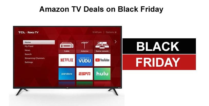 Amazon TV Deals Black Friday