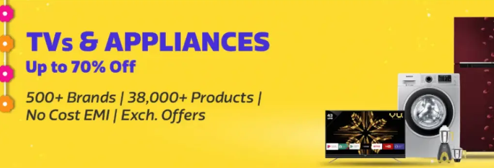 Flipkart TV and Appliances Sale