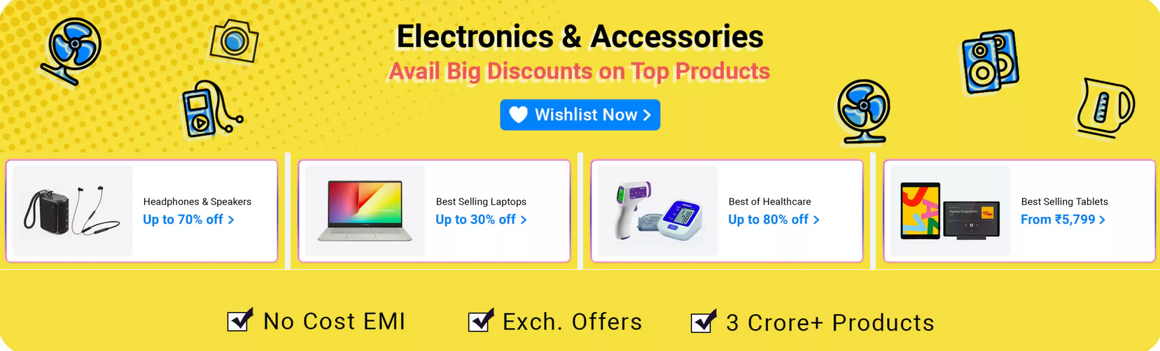 Flipkart electronics sale and offers 2020