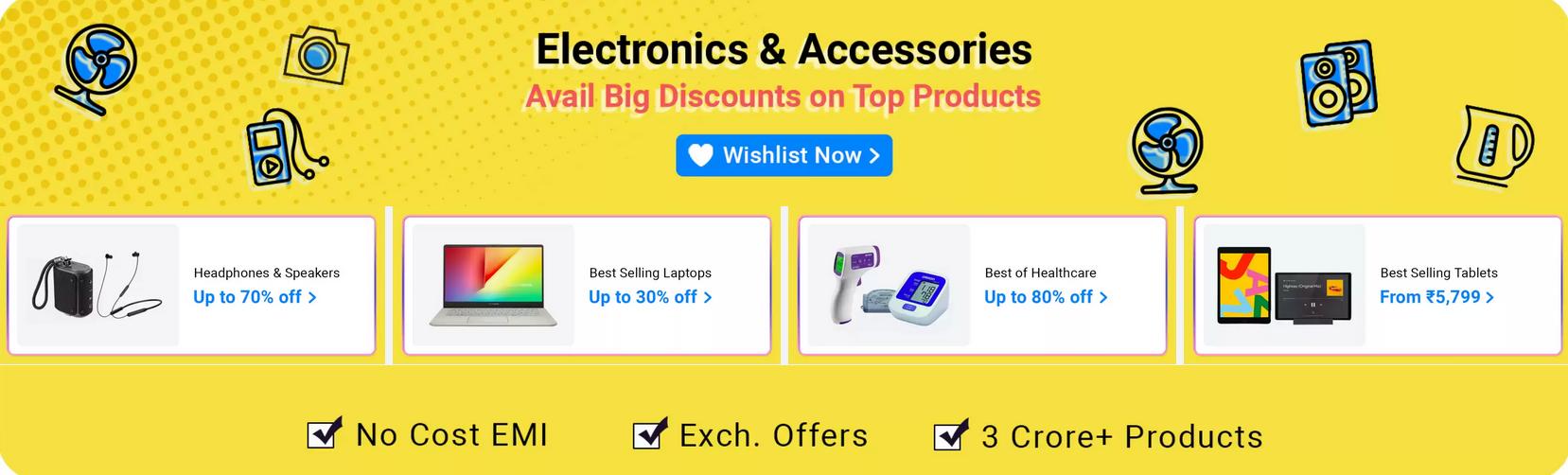 Flipkart electronics sale and offers 2020