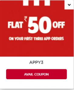 KFC First Order Coupon