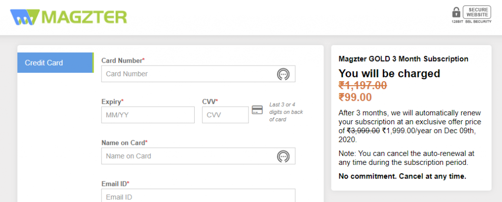 Magzter ICICI Offer