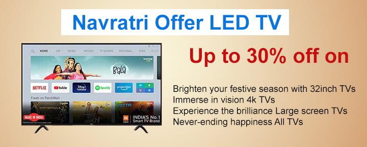 Navratri Offer LED Tv