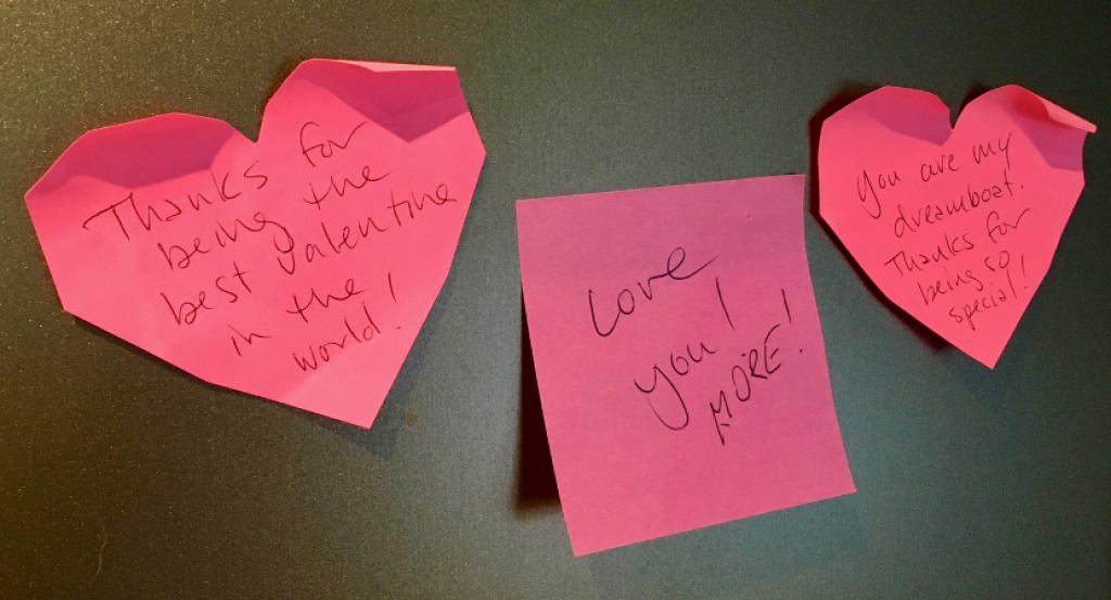 love notes a way of pampering