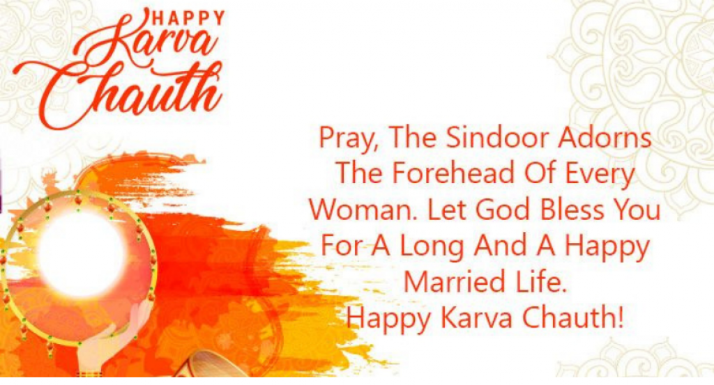 Happy Karwa Chauth pray