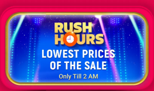 flipkart rush hours deals