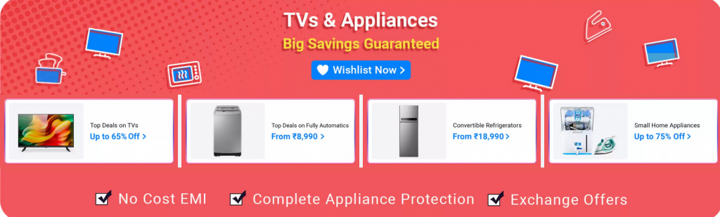 flipkart tv exchange offers