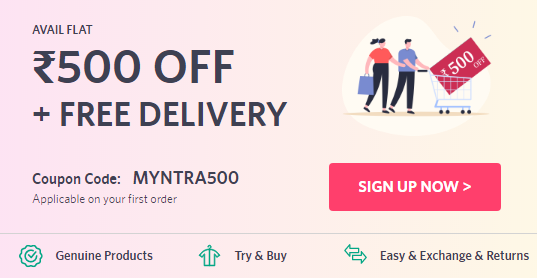 Myntra New User Offer for this Festive Bonanza Sale