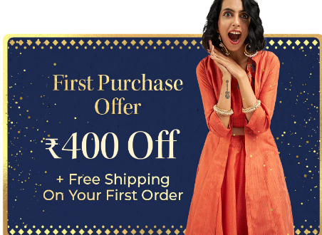 Myntra First Purchase Order Offer for New User