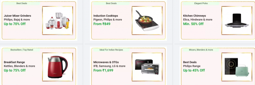 Up to 75% OFF on Kitchen Appliances