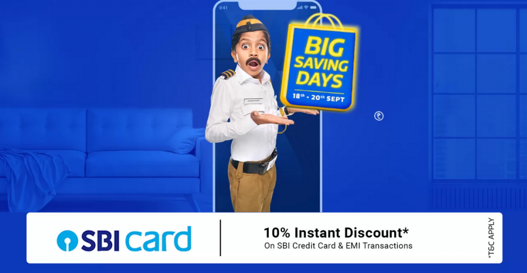 Flipkart Big Saving Days Sale Offers