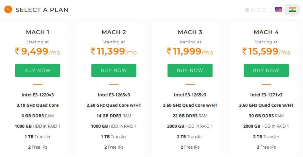 Linux Dedicated Server Hosting For Indian users