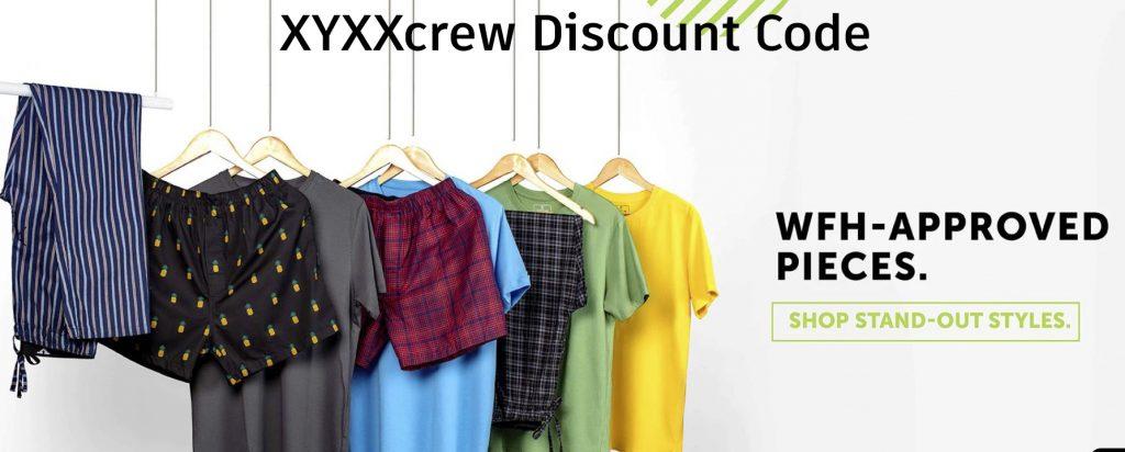 XYXXcrew coupon Code